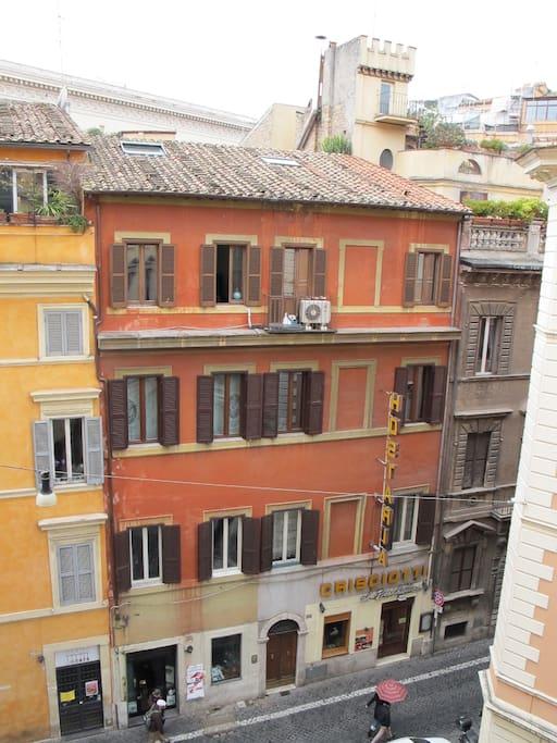 il quartiere dalle finestre di The Same Place