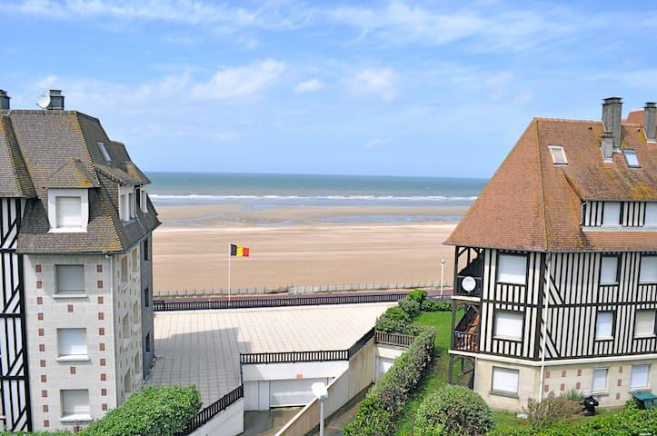 3 pièces en bord de mer à Deauville - Benerville-sur-Mer - Apartemen