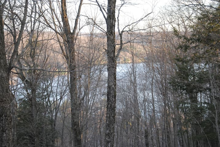 View of Head Lake in early spring