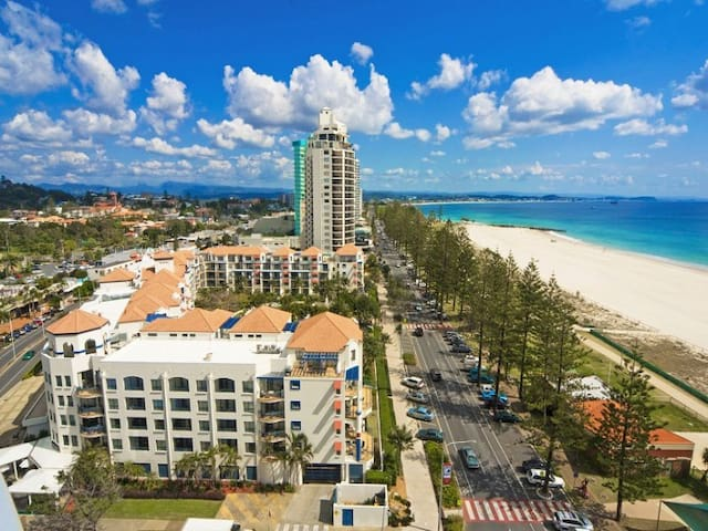 Coolangatta Beachside resort