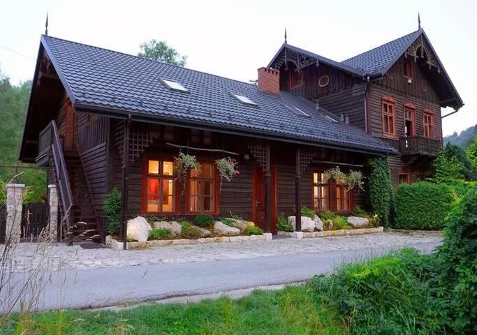 Luksusowy pokój 2os. w willi Bazar Lwowski-Ojców/1