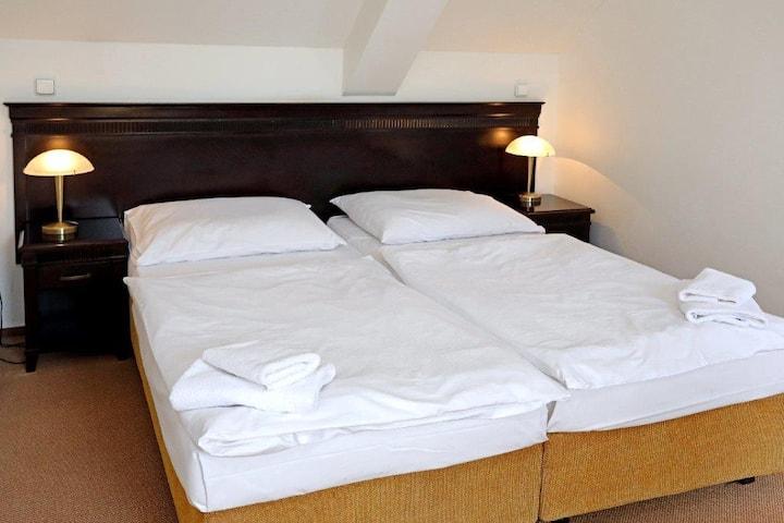 Apartmán pro dva v Hotelu U Zlatého Stromu