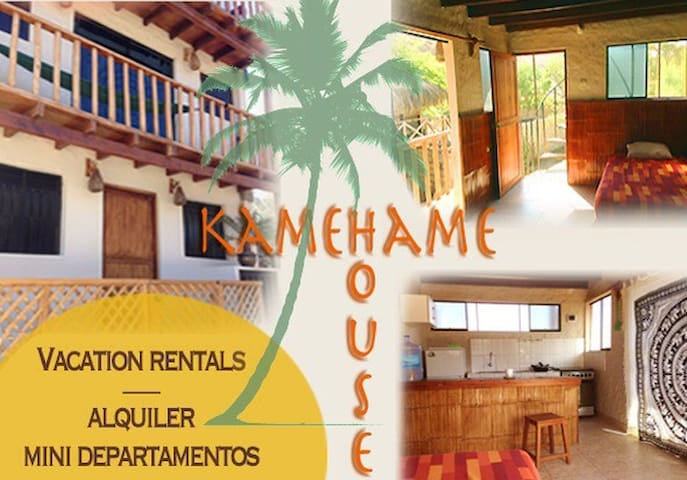 Kamehame House - 2nd floor apartment w/balcony