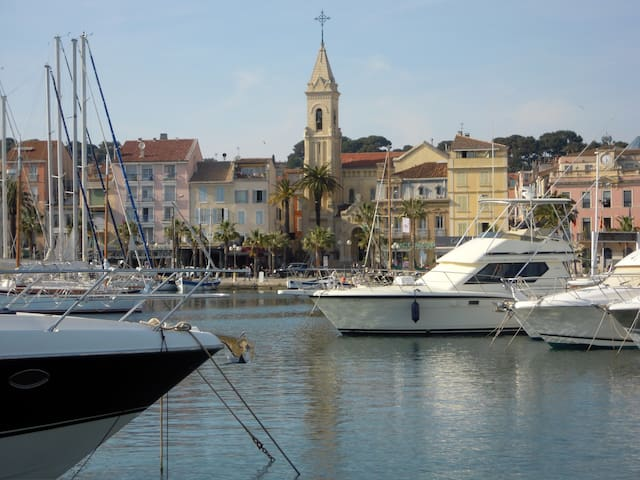 Quiet app, in French Riviera, close to the beach - Six-Fours-les-Plages - Dom