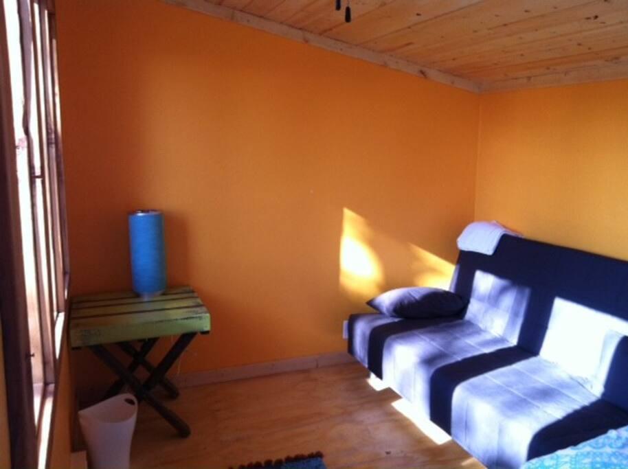 Simple clean interior!