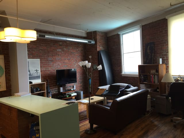 1 Beautiful downtown Industrial Apartment near MCV