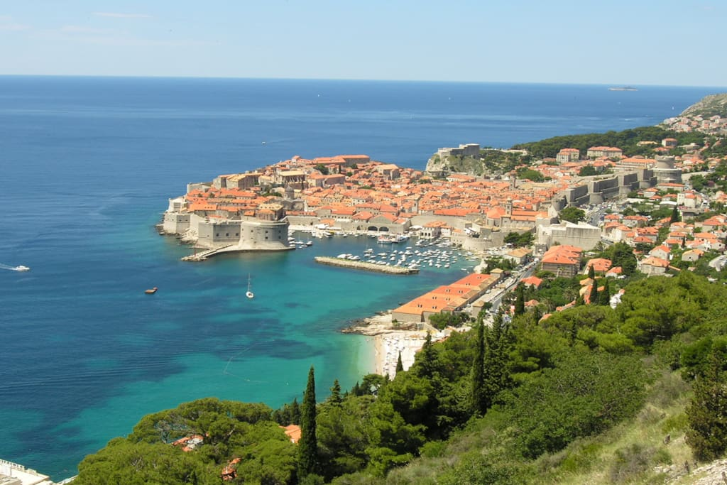 ...and the villa is only 10km away from Dubrovnik
