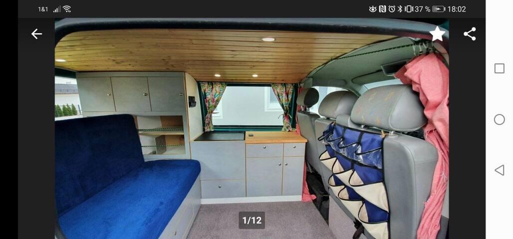 Freiheit - Erkunde die Region mit VW T5 Camper