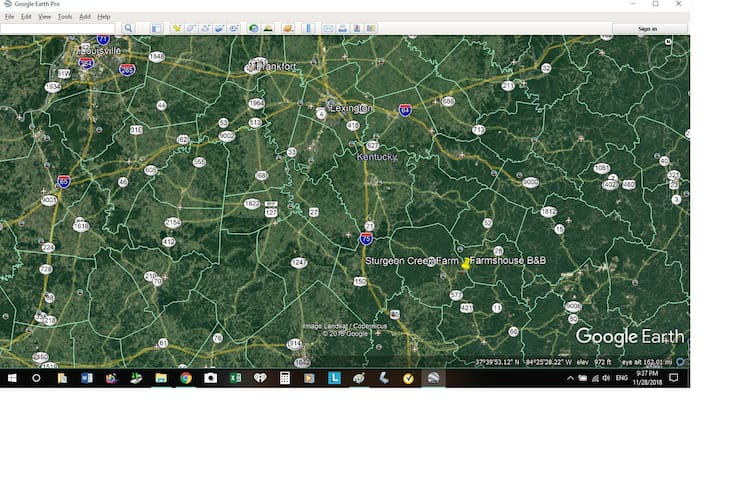 3 hours from Louisville, 2 hours from Lexington or Knoxville, and 1 hour from Richmond/Berea area.