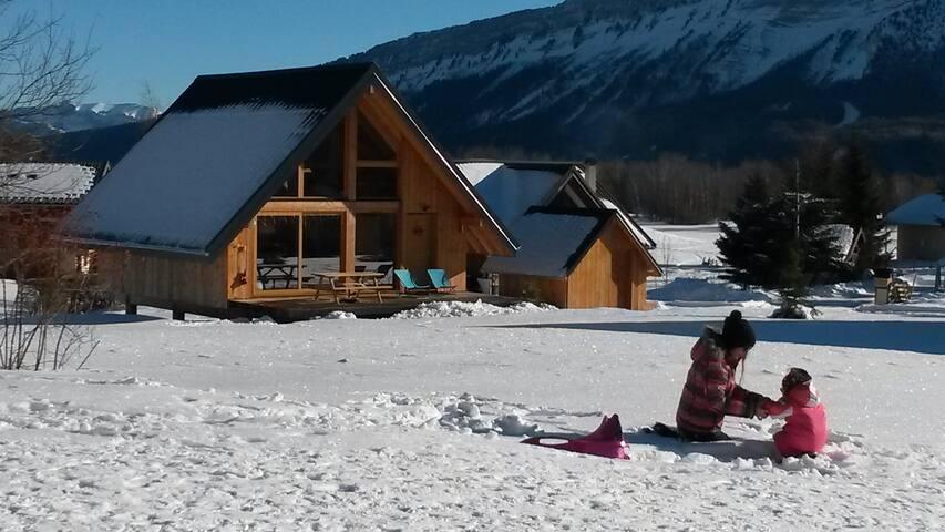 Chalet de charme 4*, Savoie Grand Revard, Alpes - Les Déserts
