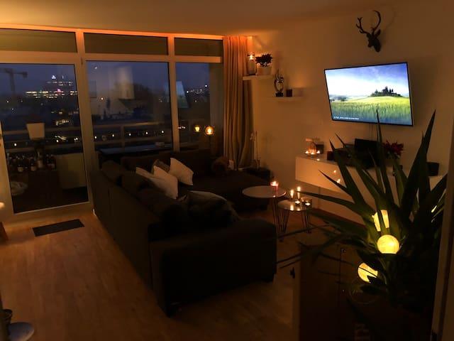 Panorama smarthome apartment loggia 6th floor