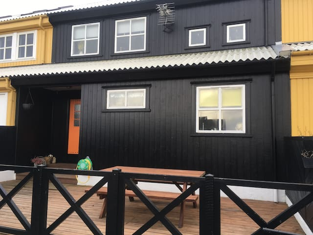 Hyggeligt og lækkert rækkehus - Hoyvík - House