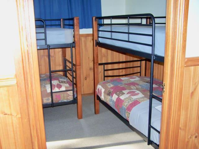 Second Bedroom - Two Bedroom Cottage
