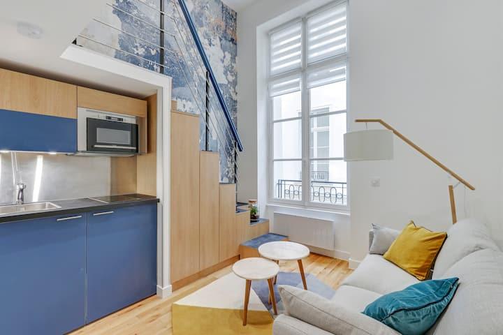 Beautiful one bedroom Marais all renovated Paris 3