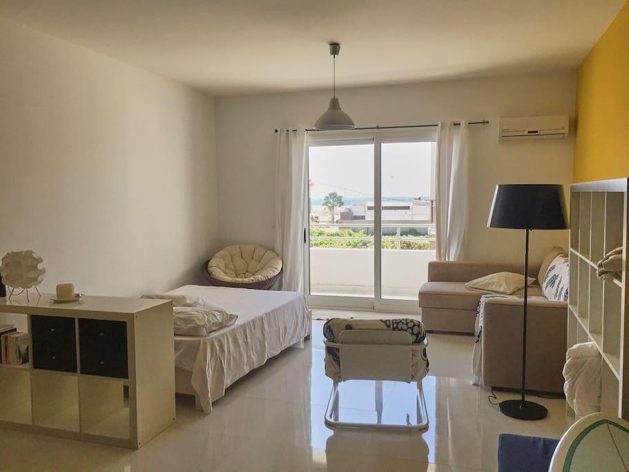 boutique studio flat to rent wohnungen zur miete in santa maria sal kap verde. Black Bedroom Furniture Sets. Home Design Ideas