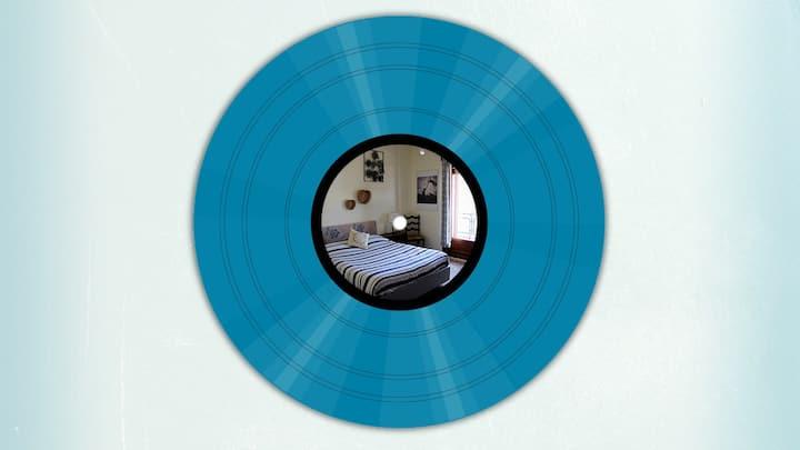 Blue Room with private balcony Taranto