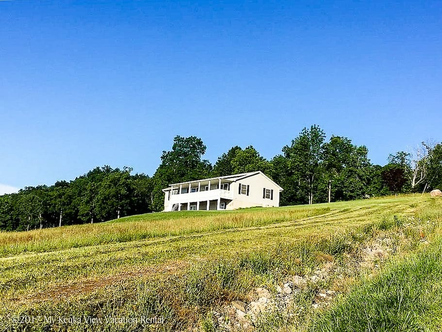 Sitting on 5 acres of open land gives lots of room for exploring-