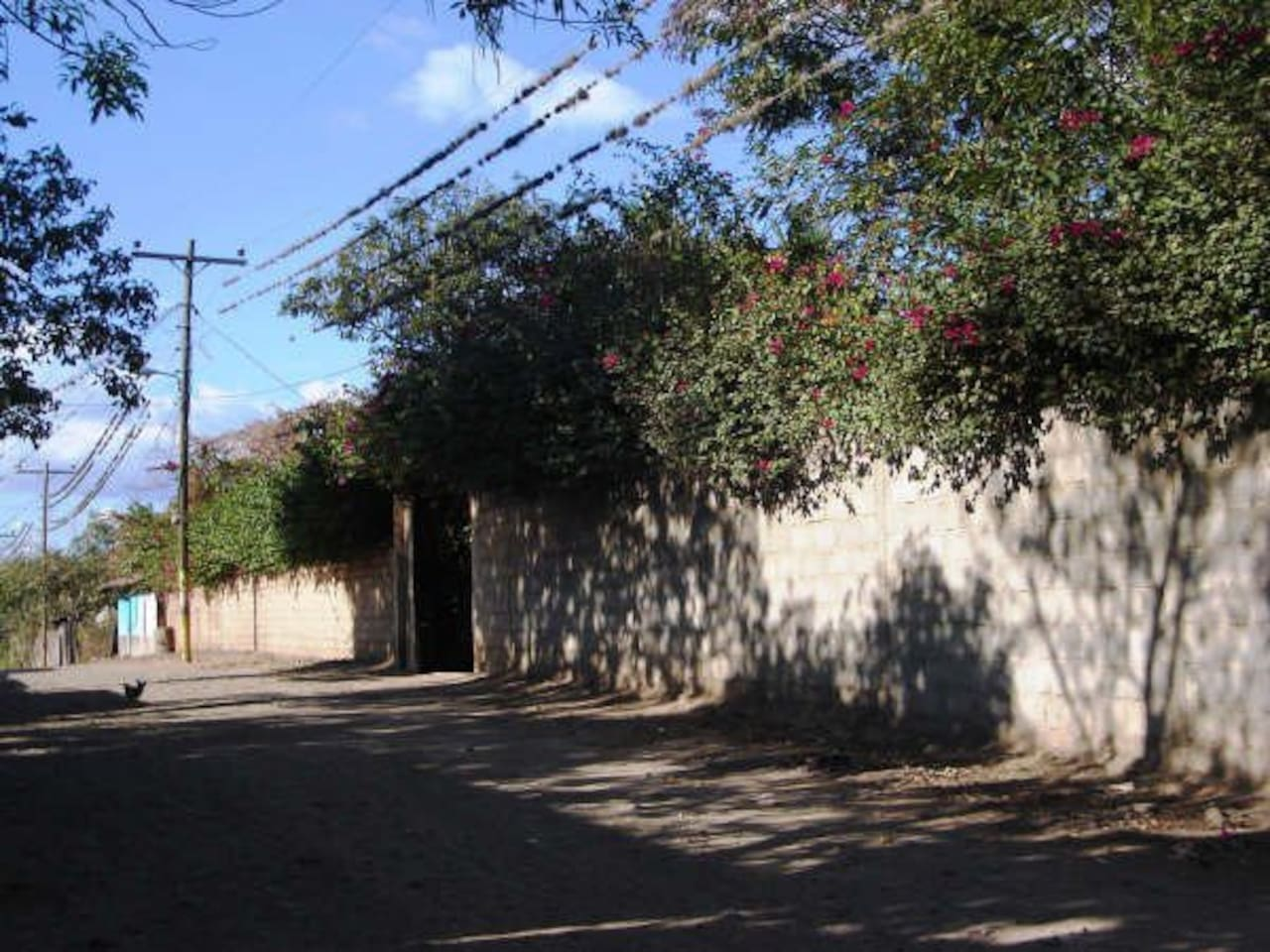 Portón Principal de la propiedad