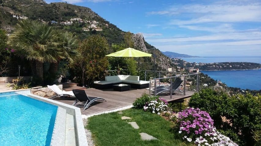 Duplex with Panoramic View, Piscine & Jacuzzi
