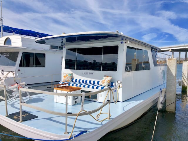 Houseboat Heaven Floating Margaritaville. Last Toy