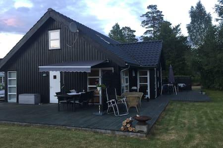 Lækker hytte på Brunstadveien - Stokke - Бунгало