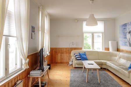 Valoisa puutalo kolmio - Apartment