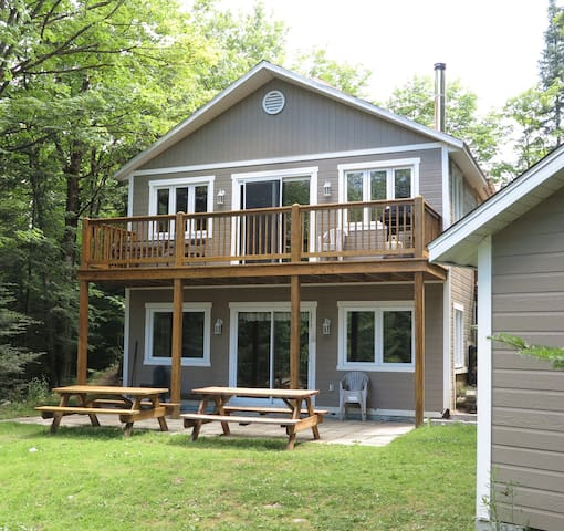 Cottage Relais familial (on Lake) - Saint-Faustin-Lac-Carre - Chalet