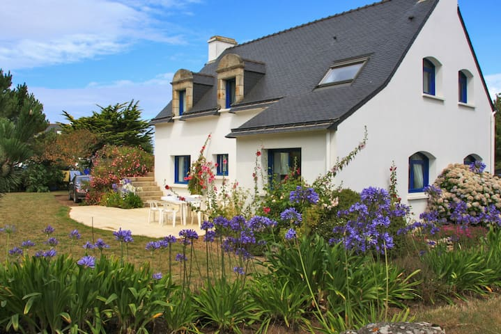 Bright flat 100 metres from beach! - Saint-Pierre-Quiberon - Apartamento