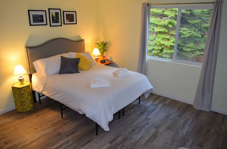 Forest views from your bed