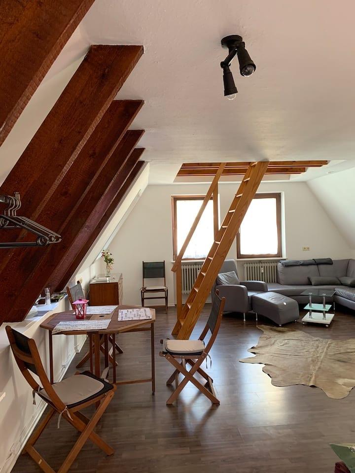Sigmaringen Romantische Dachwohnung am Schloss