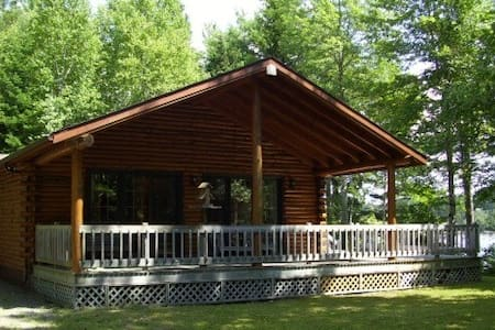 Cottage/Loghome at the River/Waterfront - Richibucto