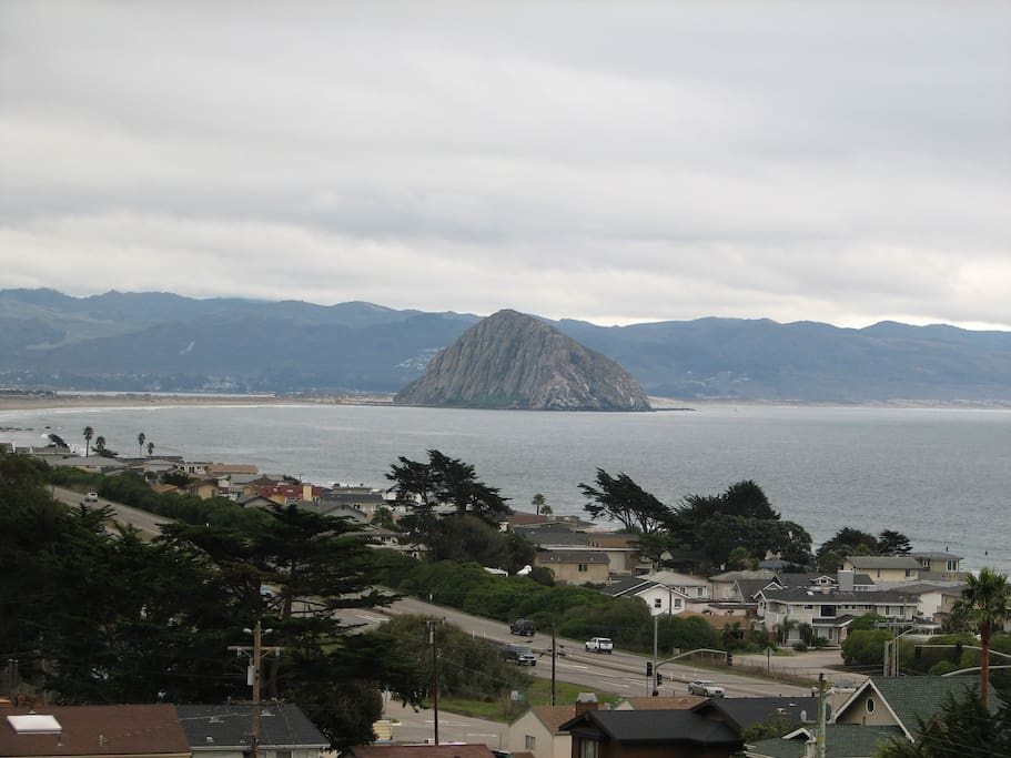 View of Morro Bay from House
