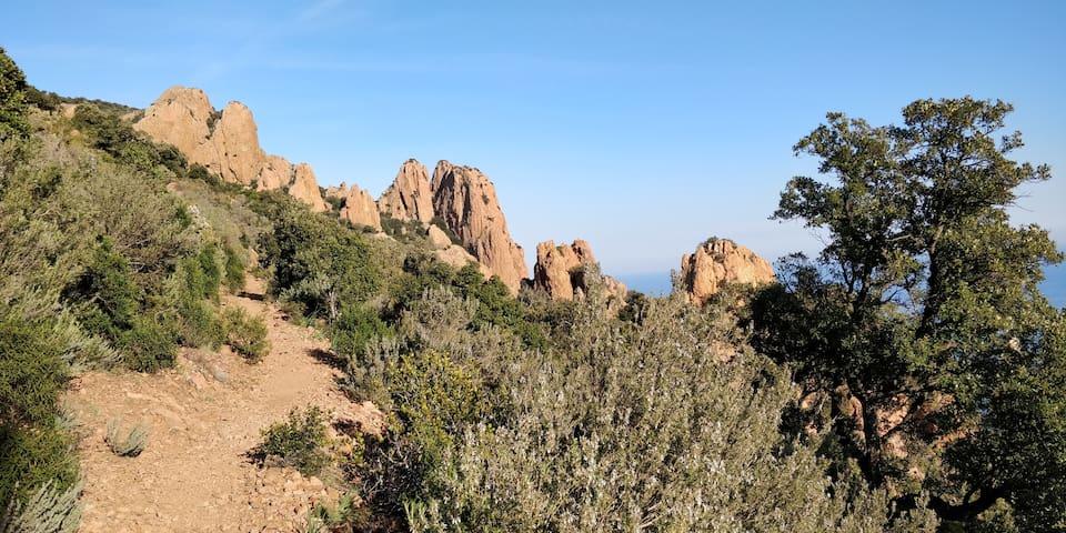Randonnée Pic du Cap Roux