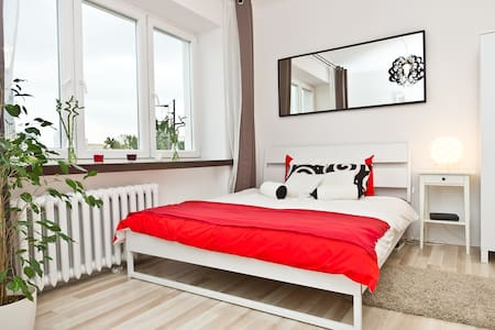 Beautiful studio near Warsaw center - Varsovie - Appartement