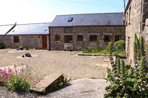 Cornish granite character farm building.