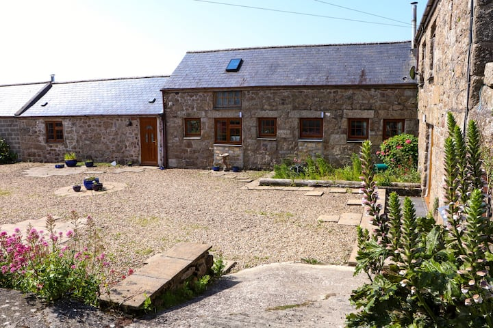 Cornish granite character farm building.