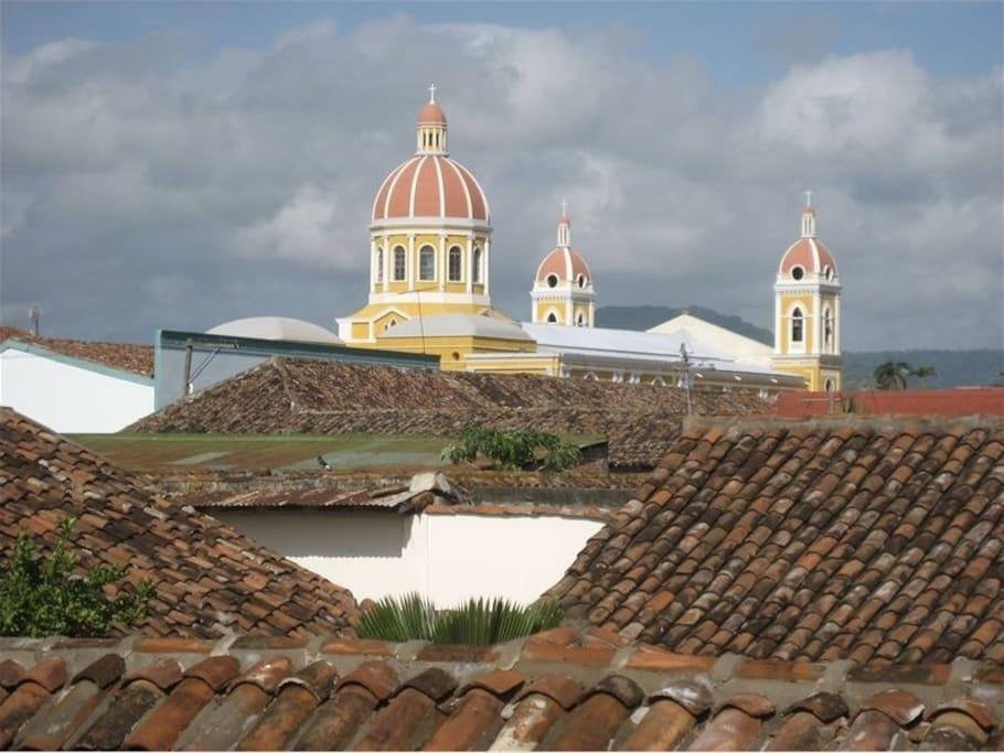 Perla del norte views and salt water pool casas en alquiler en granada granada nicaragua - Casas en alquiler granada ...