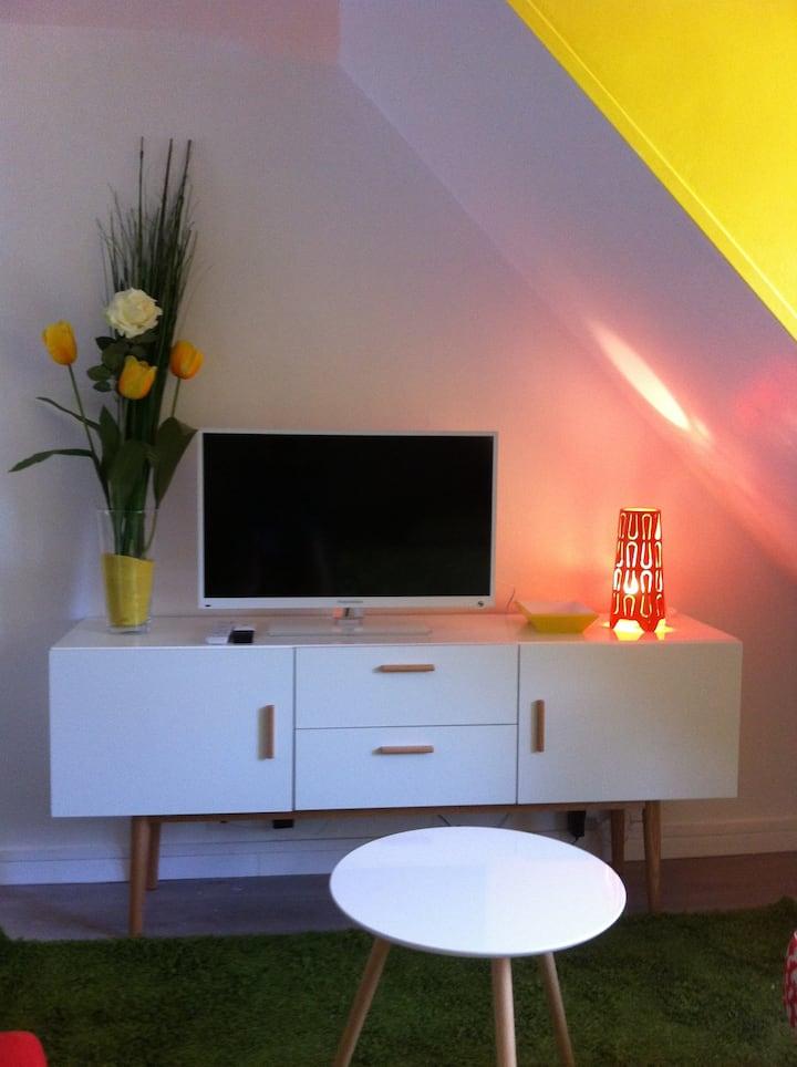 Apartment ideal for visiting Paris
