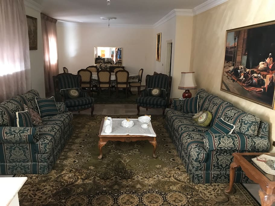Guest Lounge and Dining Room