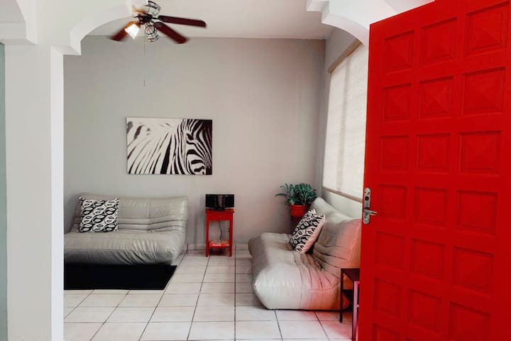 "Centrally located ""Red Door Apartment"" in San Juan"