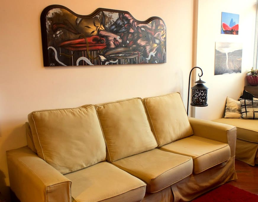 Living room - sofa