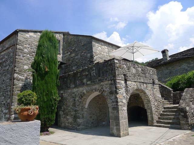 Ein wunderschönes Landhaus bei Pontremoli