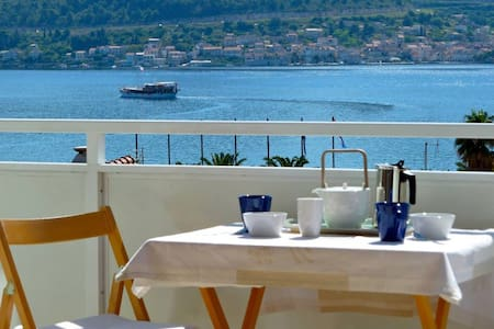 Stunning view on Vis bay and islands for two