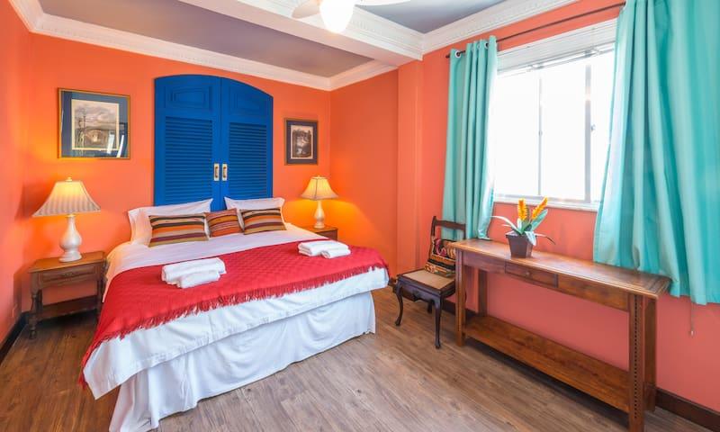 The Blue Door Bedroom