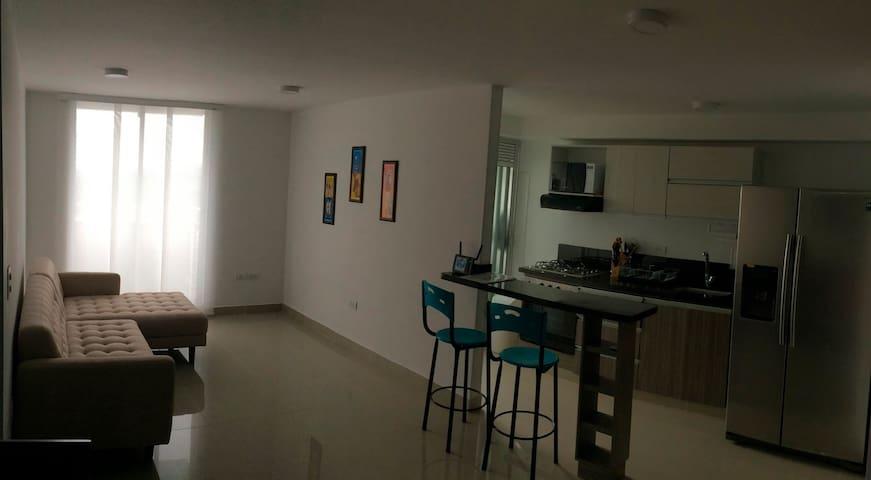 Armenia Apartamento al Norte. Nuevo. Cómodo - Armenia - Apartmen