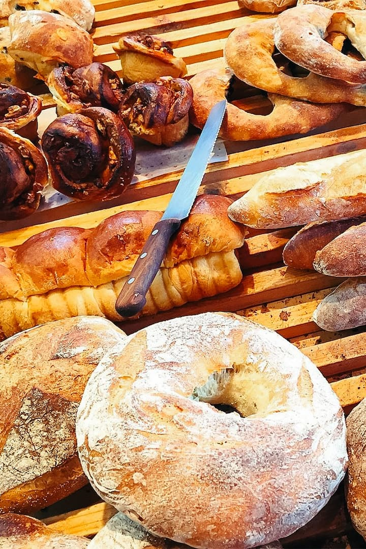 Artisanal bread tasting