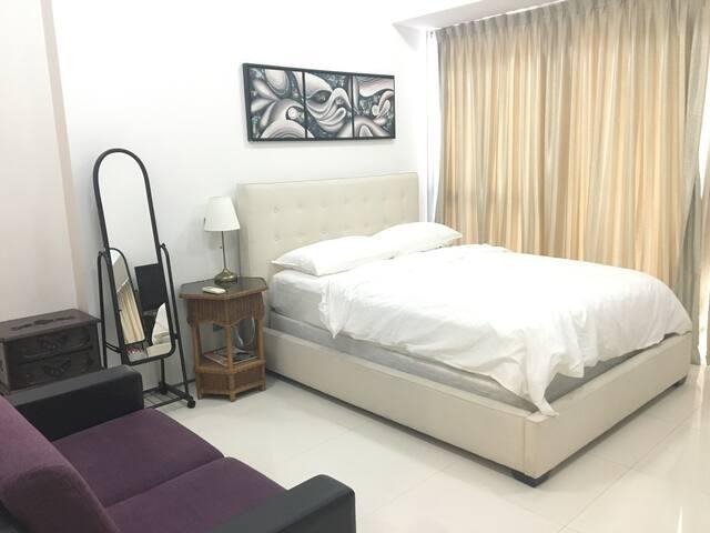 Tanjong Pagar MRT studio B / wifi  - Singapura - Apartmen