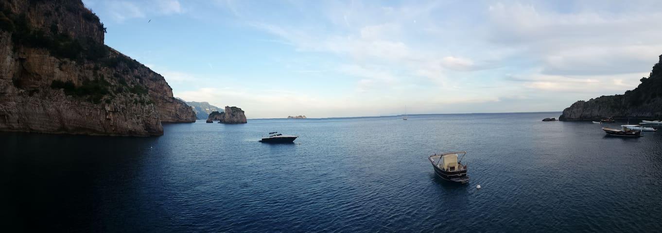 Incanto apartament in Nerano stunning sea view