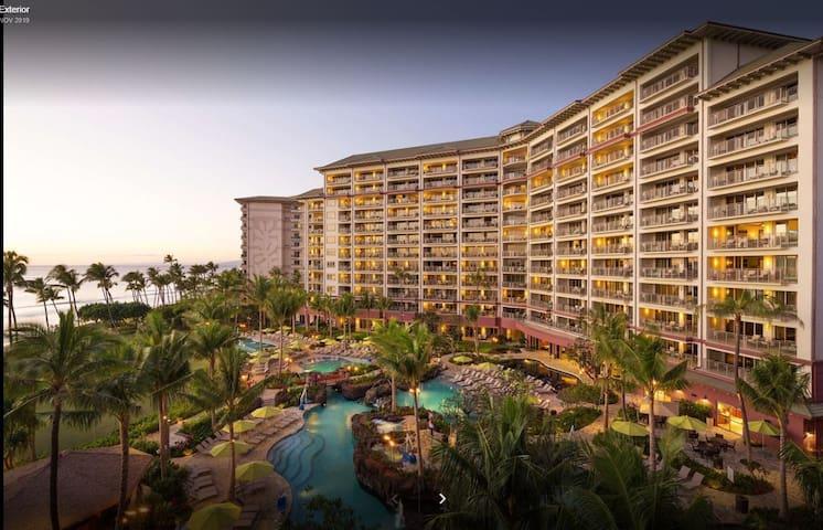 """Maui Resort Rental - Week 1 """" 1-2---7, 2021."""