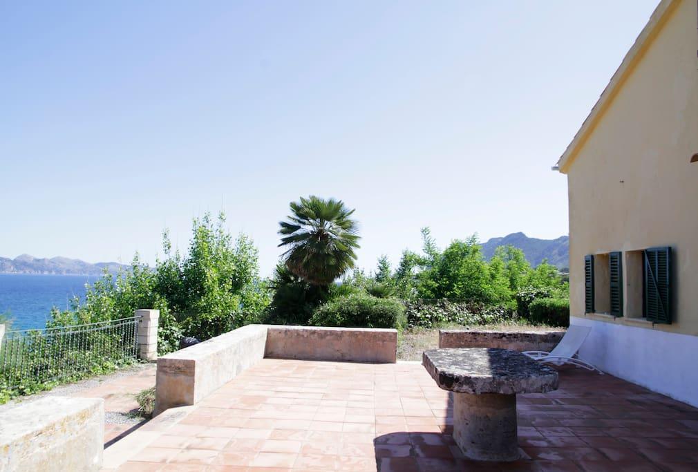 Vista General terrazas